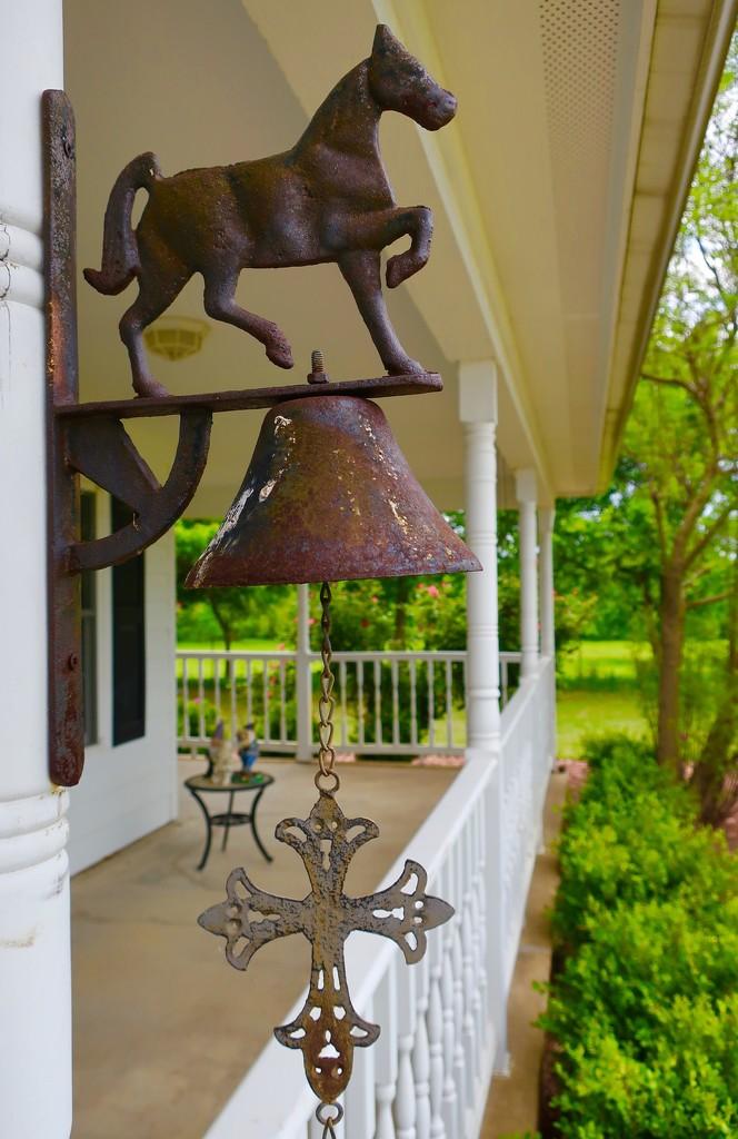 The horse ranch door bell by louannwarren
