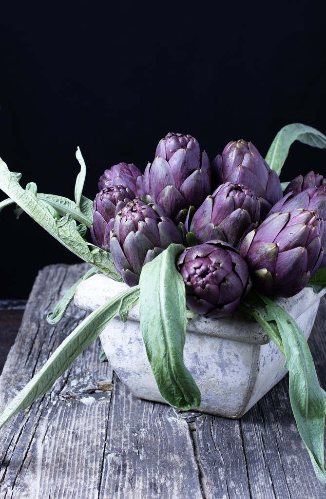 Artichokes for lunch by angelikavr