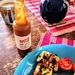 Topette hot sauce and halloumi brunch