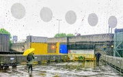 2nd May 2019 - Yellow umbrella at the Hayward Gallery