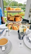 5th May 2019 - Prosecco afternoon tea at the William Morris Gallery