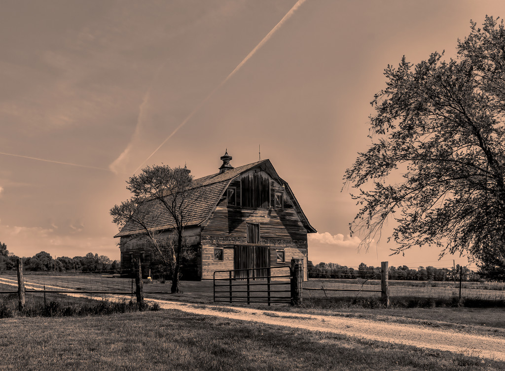 backroad barn by samae