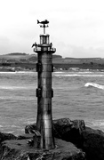 15th Apr 2019 - 15th April Stonehaven Lighthouse 2 bw