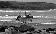 28th Apr 2019 - 28th April trawler Stonehaven 3 bw