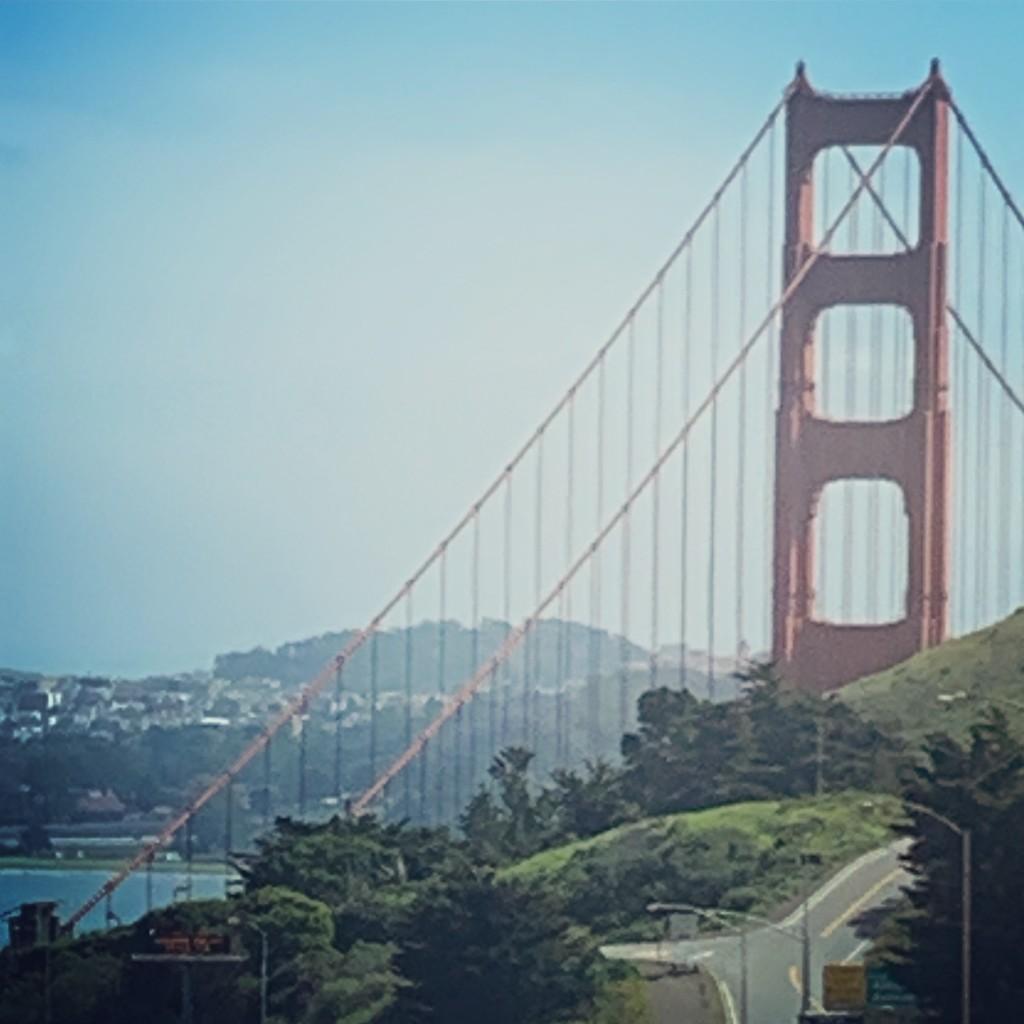 The Golden Gate by louannwarren