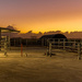 Sunset at the Cow Shed