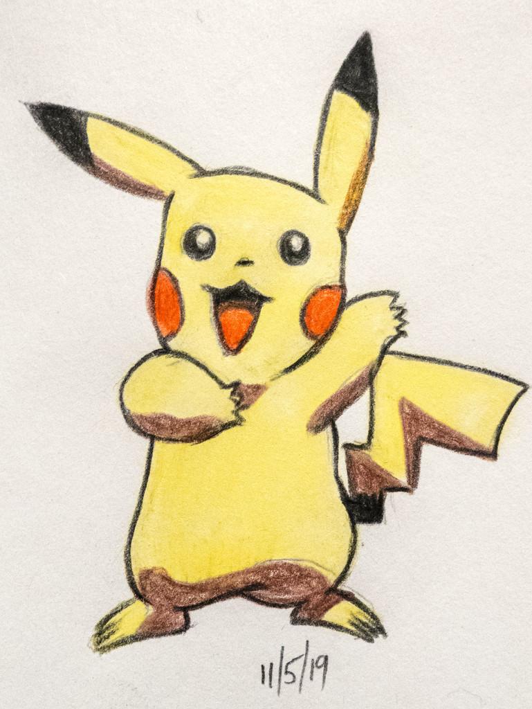 Pikachu by harveyzone
