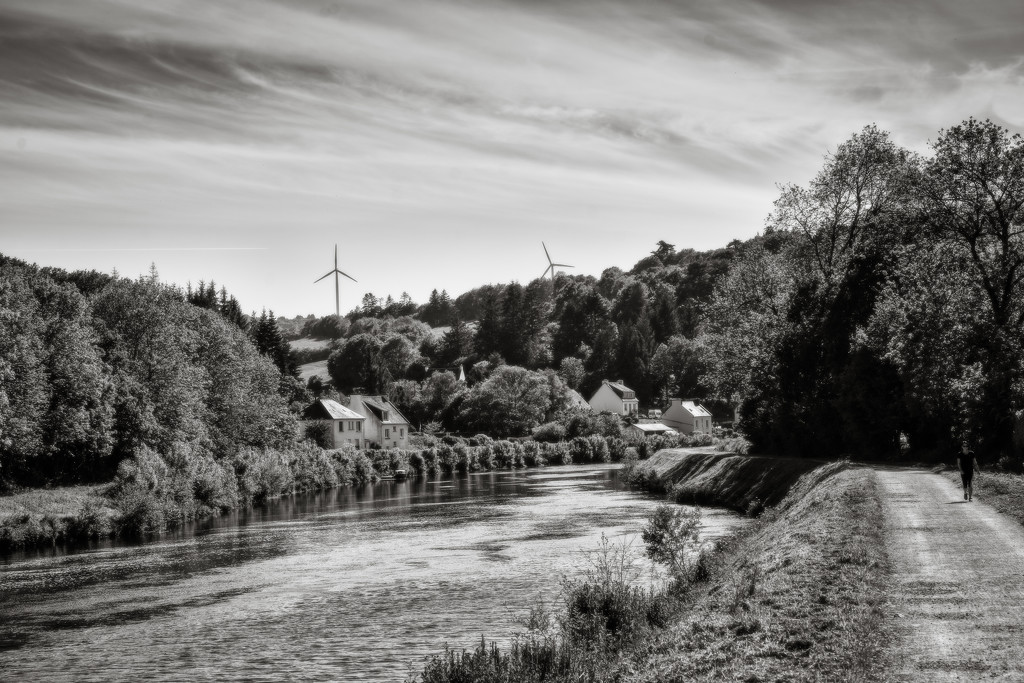 Nantes-Brest Canal near to Chateaulin by vignouse