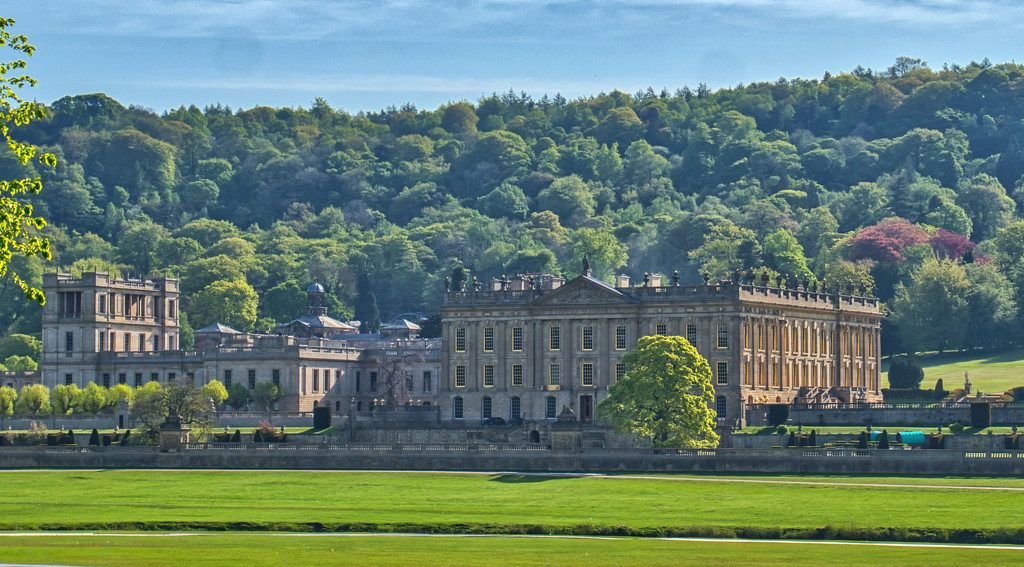 Chatsworth House. by tonygig