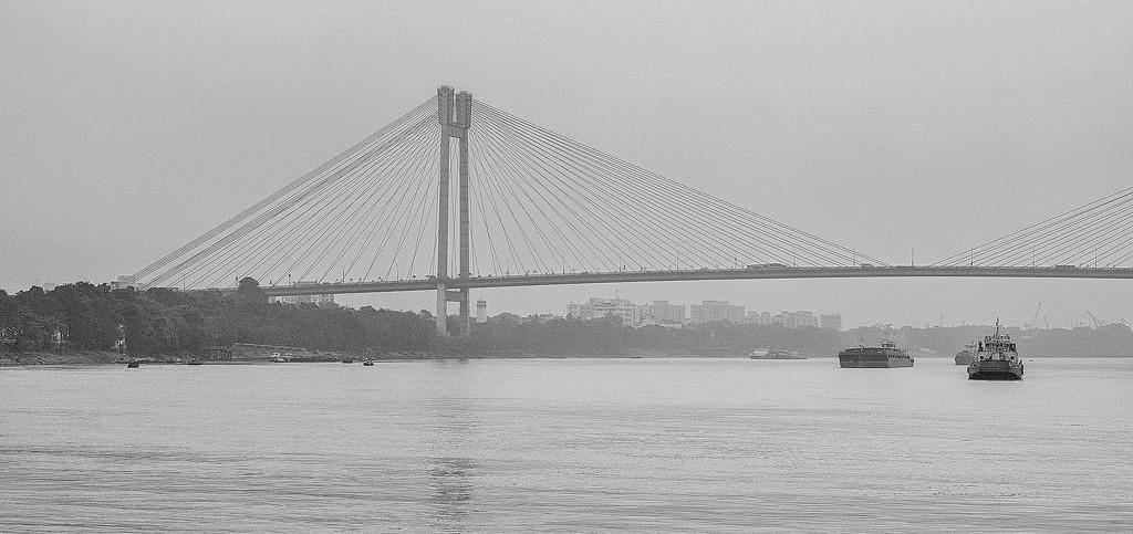 New Howrah bridge by golftragic
