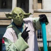 15th May 2019 - Floating Yoda