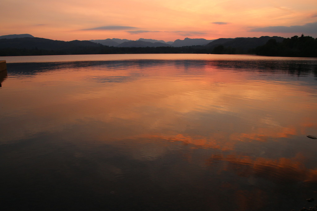 Late Lake Windermere by shepherdman