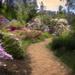 The Path Through Hinman Gardens-Impression