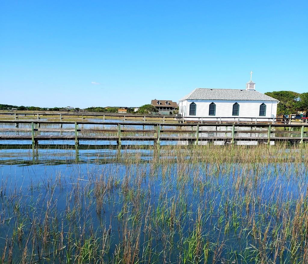 Church on the Marsh by morrij10
