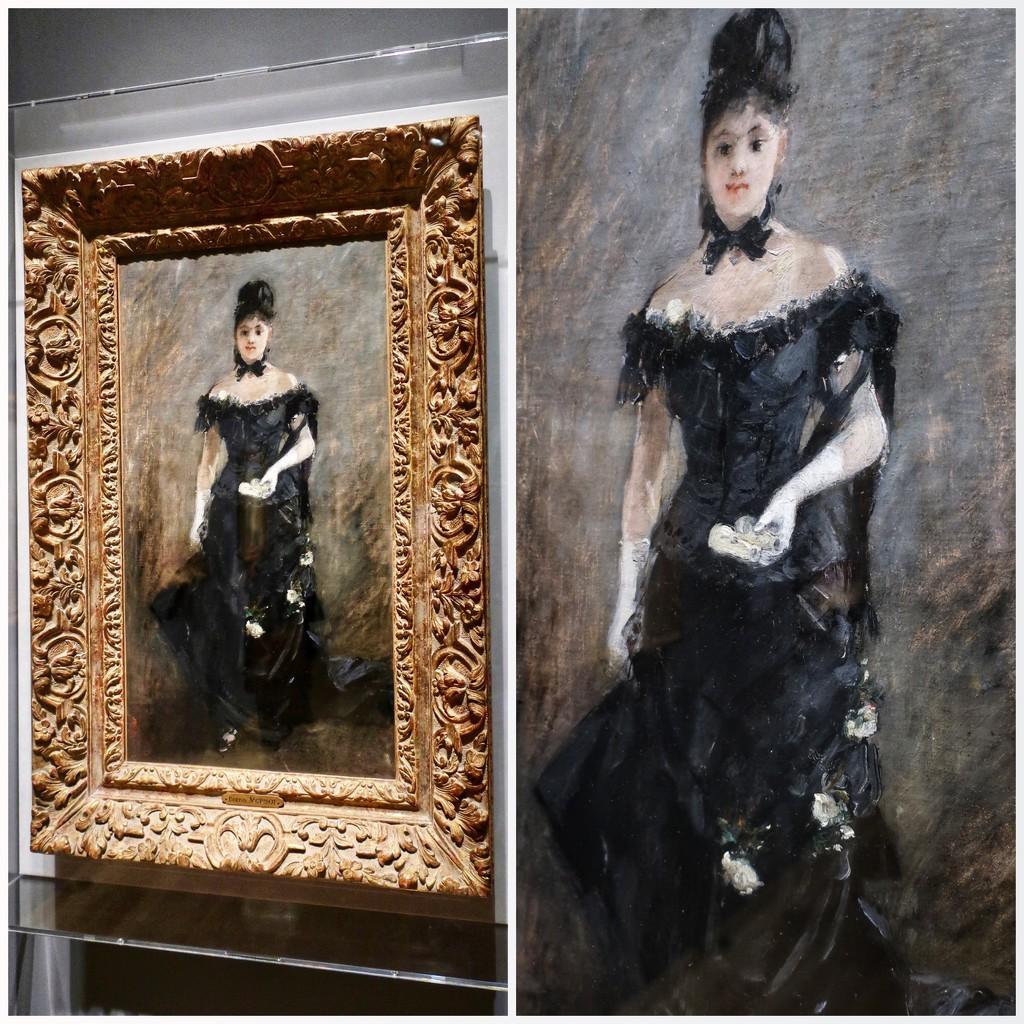 "Berthe Morisot's ""The Parisienne"",  1876 by louannwarren"