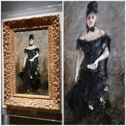 """17th May 2019 - Berthe Morisot's """"The Parisienne"""",  1876"""