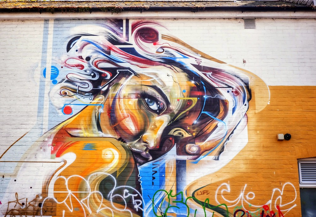 Mural by Mr Cenz by 4rky