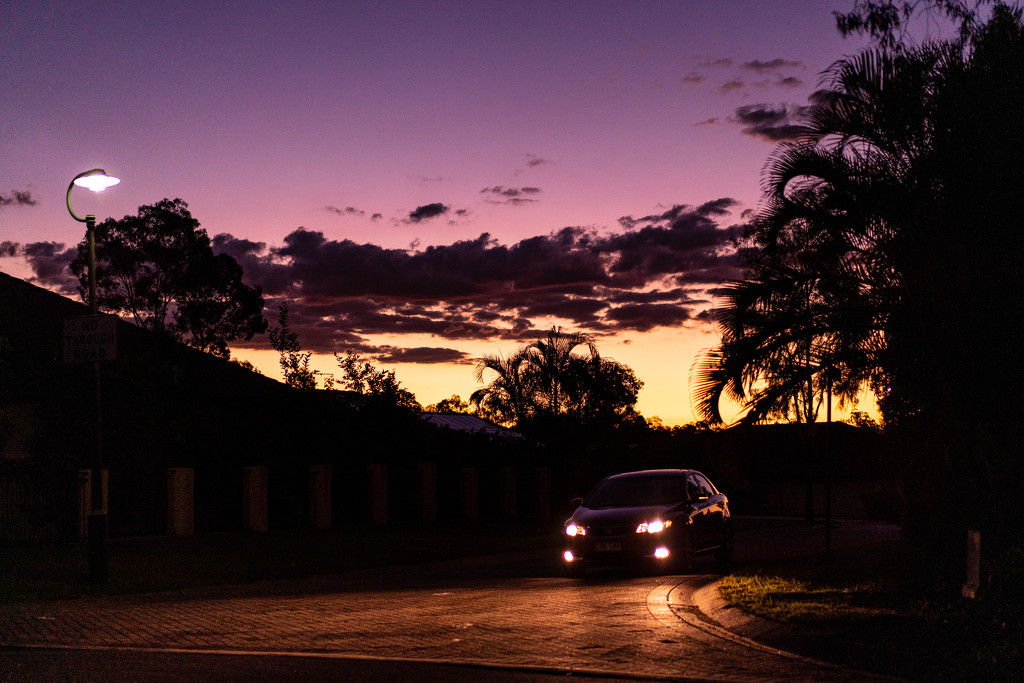 Sunset walk by sugarmuser