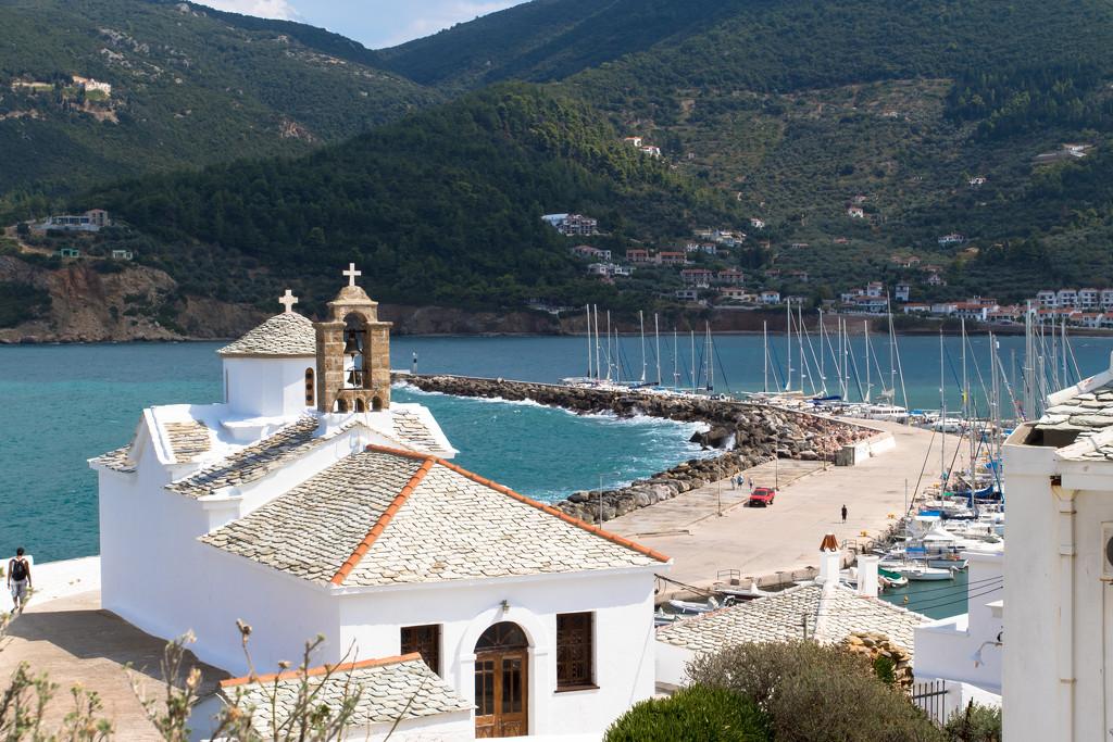 Skopelos on Sunday by peadar