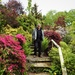 Chris at the Dingle Garden