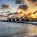 Sunset Huts on Flamingo Beach