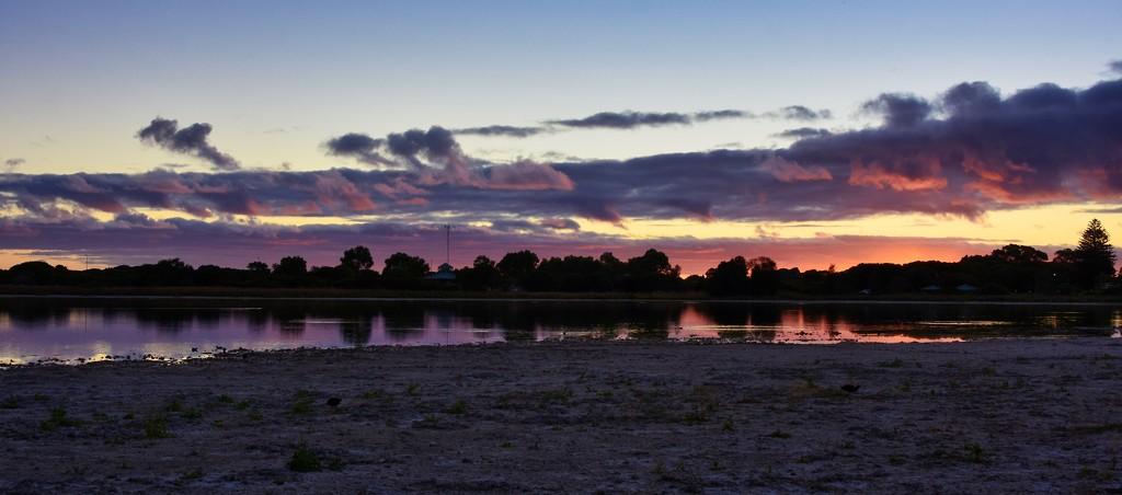 Sunset Over Lake Richmond_DSC1352  by merrelyn