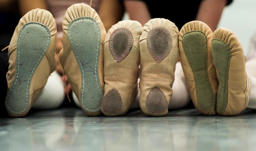 Ballet Shoes by loweygrace