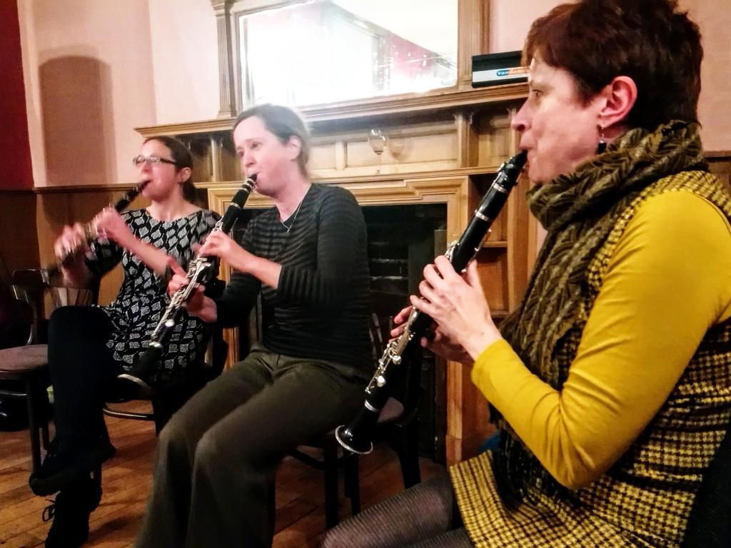 Clarinet trio by boxplayer