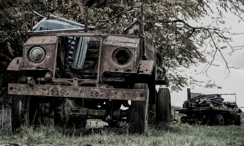 bit rusty by graemestevens