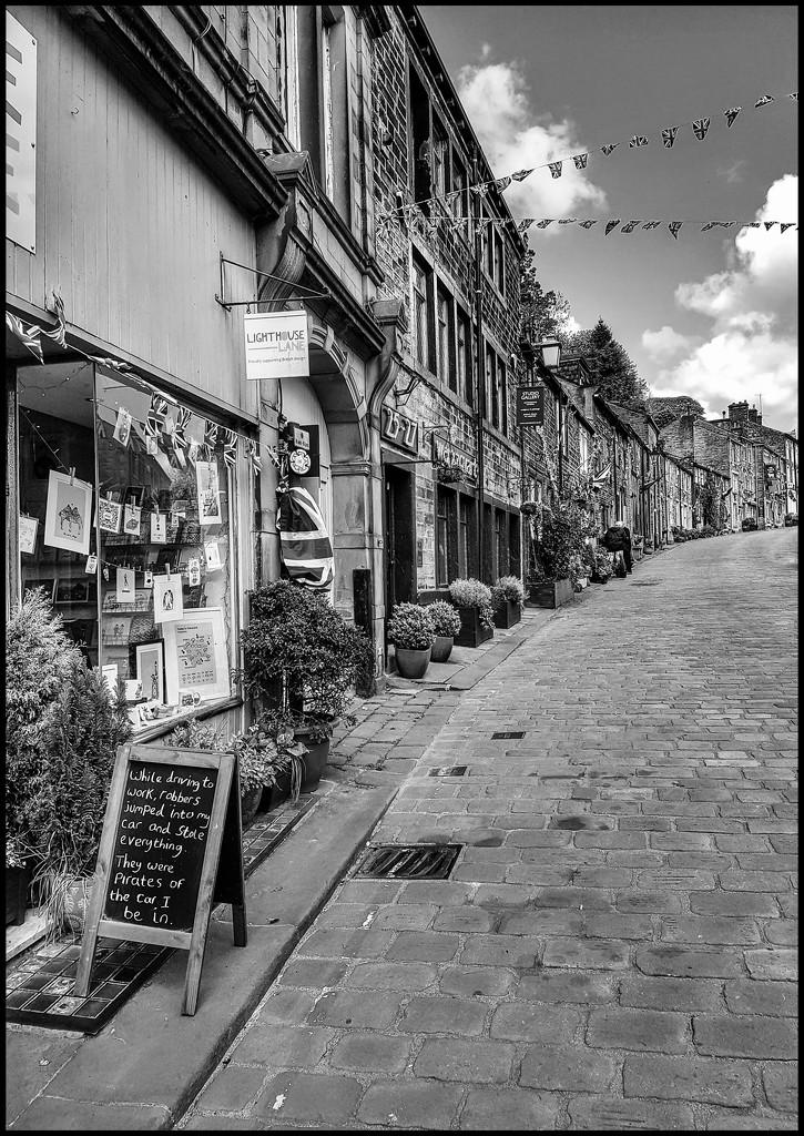 Haworth in b&w by lyndamcg
