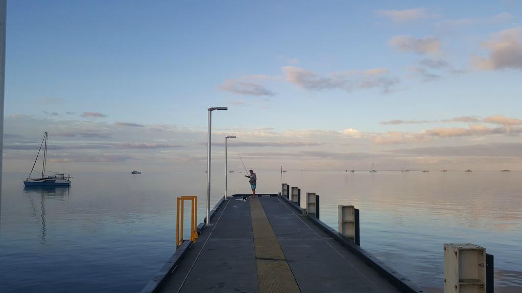 Fishing at Shark Bay by leestevo