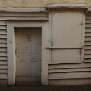 24th May 2019 - shuttered window and door