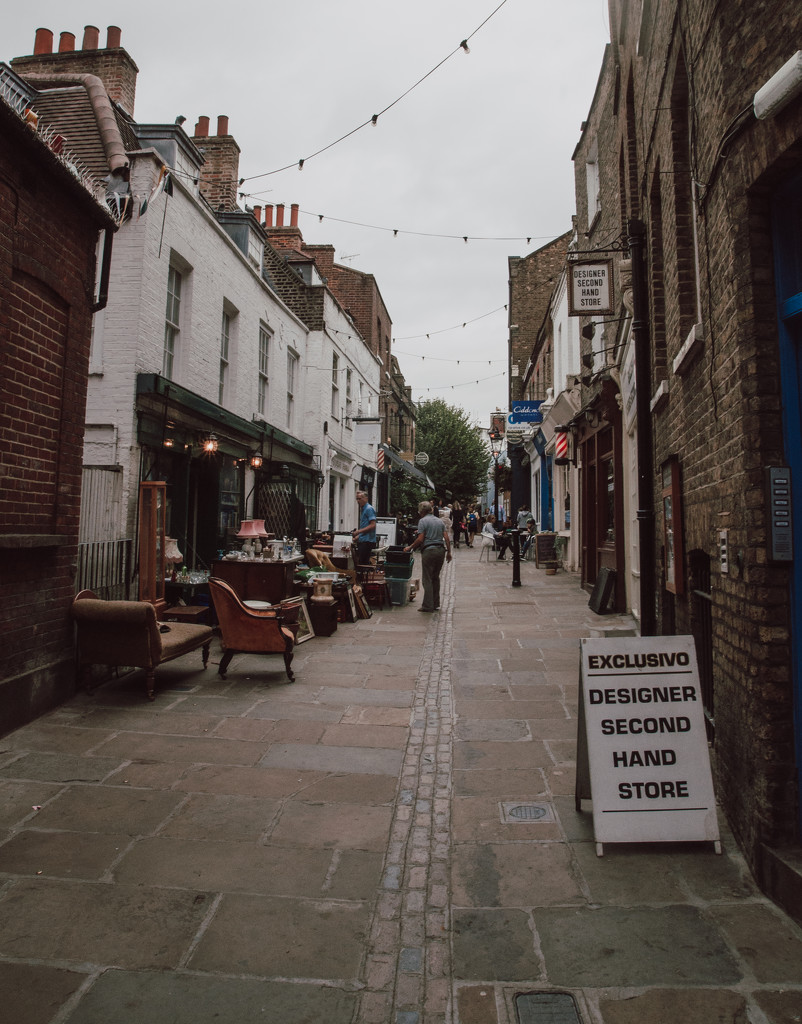 Little lane in Hampstead by brigette