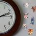 Clock half and half