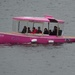 pink boat