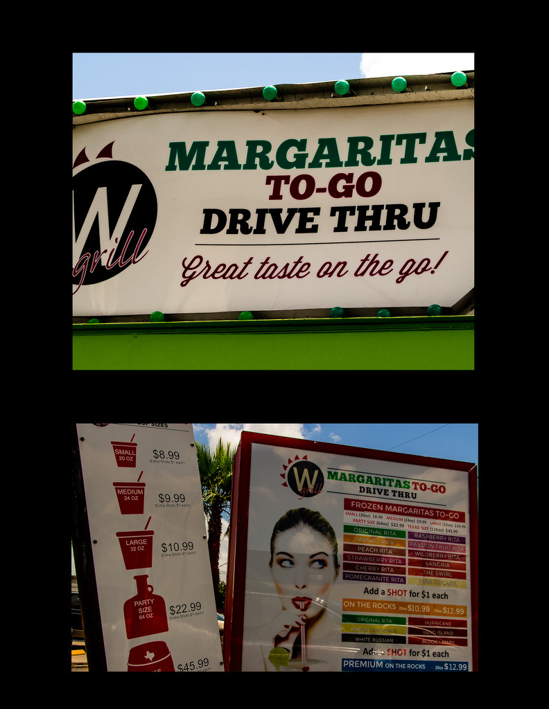Houston Drive-Thru Margaritas by wendytel