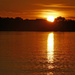 Sunset over Lake Kununurra  by judithdeacon