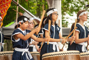 24th May 2019 - Taiko drummers gettin' it on!