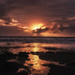 Sunset Motukiekie Beach by maureenpp