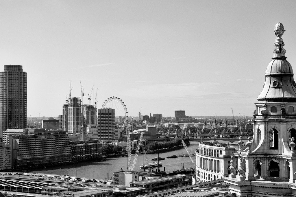 St Pauls view of the city  by brigette