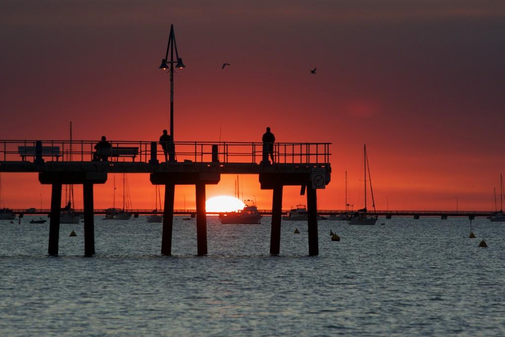 Tonight's Sunset_DSC6780 by merrelyn