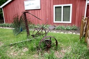 21st May 2019 - Old Farm EQuipment and A Peacock