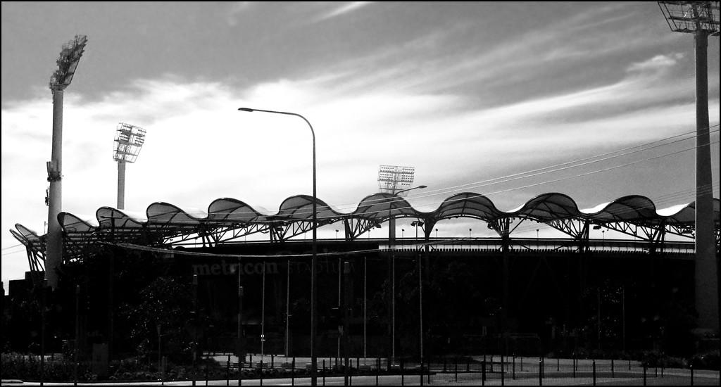 A fancy stadium... by robz