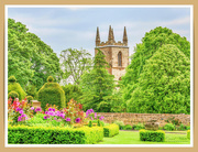 1st Jun 2019 - The Priory Church From Canon's Ashby Garden