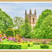 The Priory Church From Canon's Ashby Garden by carolmw