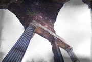 5th Jun 2019 - pillars....in space