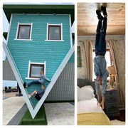 4th Jun 2019 - Emily, Oscar and the Upsidedown House