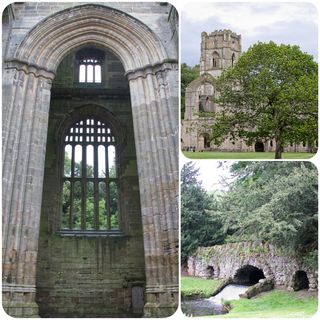 Scenes from Fountains Abbey by mave