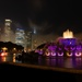 Buckingham Fountain on a Foggy Night
