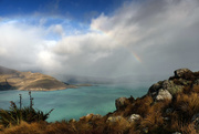 7th Jun 2019 - Rainbow over Lyttelton Harbour